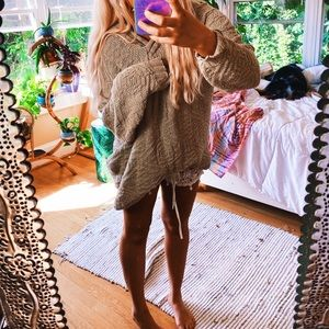Bohemian Clementine Hazelnut Sweater 🌈
